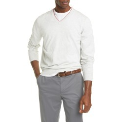 Men's Brunello Cucinelli Cotton V-Neck Sweater found on MODAPINS from Nordstrom for USD $495.00