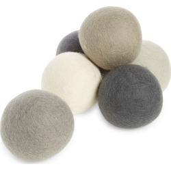 Five Two By Food52 Pack Of 6 Wool Dryer Balls, Size One Size - Grey found on Bargain Bro India from Nordstrom for $36.00