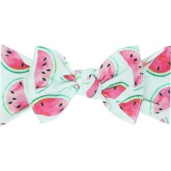 Baby Bling Printed Knot Headband, Size One Size - Green found on Bargain Bro from Nordstrom for USD $10.64