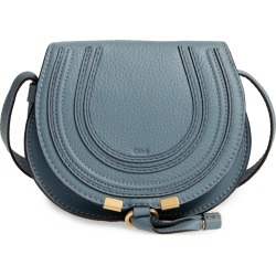 Chloe 'Mini Marcie' Leather Crossbody Bag - Blue found on Bargain Bro India from Nordstrom for $890.00