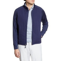 Men's Peter Millar Merge Stretch Hybrid Quilted Water Resistant Jacket, Size X-Large - Blue found on Bargain Bro Philippines from LinkShare USA for $175.00