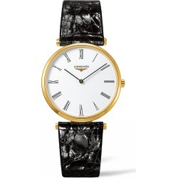 Longines La Grande Classique Leather Strap Watch, 36mm found on MODAPINS from Nordstrom for USD $1300.00