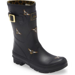 Women's Joules Molly Waterproof Rain Boot, Size 5 M - Black found on Bargain Bro Philippines from Nordstrom for $79.95