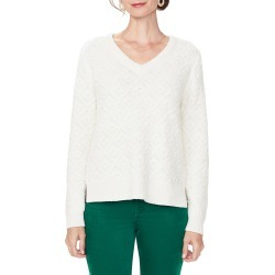 Women's Nydj V-Neck Sweater found on MODAPINS from Nordstrom for USD $99.00