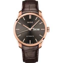 Men's Mido Belluna Ii Leather Strap Watch found on Bargain Bro Philippines from Nordstrom for $1000.00