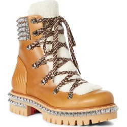 Men's Christian Louboutin Yeti Faux Shearling Hiking Boot found on Bargain Bro Philippines from Nordstrom for $1695.00