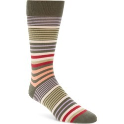 Men's Pantherella Multi Stripe Socks found on MODAPINS from Nordstrom for USD $37.00