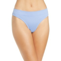 Women's Honeydew Intimates Bailey Thong, Size Small - Blue found on MODAPINS from Nordstrom for USD $13.00