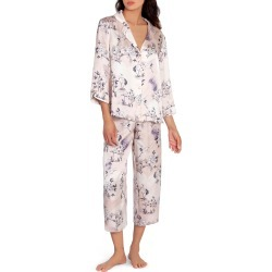 Women's Midnight Bakery Heron Print Satin Pajamas found on MODAPINS from Nordstrom for USD $58.00