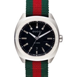 Men's Gucci Stripe Fabric Strap Watch, 40mm found on Bargain Bro India from Nordstrom for $960.00