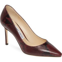 Women's Jimmy Choo Romy Pump, Size 8US / 38EU - Burgundy found on Bargain Bro Philippines from Nordstrom for $404.98