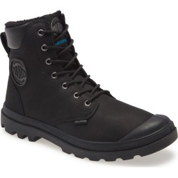 Men's Palladium Pampa Sport Waterproof Genuine Shearling Boot, Size 8.5 M - Black found on MODAPINS from Nordstrom for USD $165.00