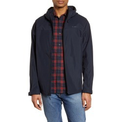 Men's Filson Swiftwater Waterproof Hooded Rain Jacket, Size Large - Blue found on MODAPINS from Nordstrom for USD $195.00