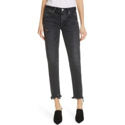 Women's Moussy Vintage Kelley Crop Tapered Jeans, Size 26 - Black found on MODAPINS from Nordstrom for USD $277.50