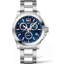 Longines Conquest Chronograph Bracelet Watch, 41mm found on MODAPINS from Nordstrom for USD $1400.00