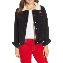 Women's Dickies Faux Shearling Lined Corduroy Jacket, Size X-Large - Black found on Bargain Bro India from Nordstrom for $99.00