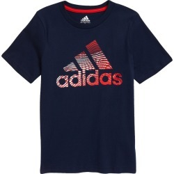Toddler Boy's Adidas Kids' Americana Graphic Tee, Size 3T - Blue found on Bargain Bro Philippines from Nordstrom for $19.00
