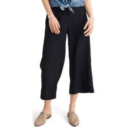 Plus Size Women's Madewell Huston Pull-On Crop Pants, Size 3 X - Black