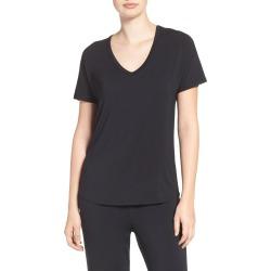 Women's Pj Salvage Short Sleeve Tee, Size X-Large - Black