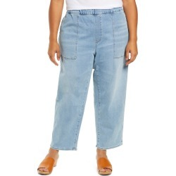 Plus Size Women's Madewell Pull-On Relaxed Jeans, Size 3X - Blue found on MODAPINS from Nordstrom for USD $98.00