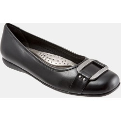 Women's Trotters 'Sizzle Signature' Flat, Size 7 N - Black found on Bargain Bro India from Nordstrom for $99.95