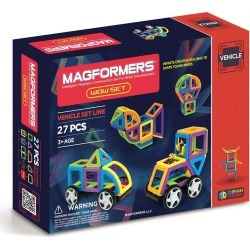 Toddler Magformers 'Vehicle - Wow' Magnetic 3D Construction Set found on Bargain Bro Philippines from Nordstrom for $69.99