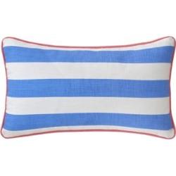 Southern Tide Coastal Ikat Stripe Accent Pillow