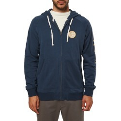 Men's O'Neill Heritage Zip Hoodie, Size Large - Blue