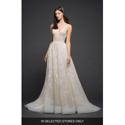 Women's Lazaro Embellished Organza Gown, Size IN STORE ONLY - Ivory found on Bargain Bro Philippines from Nordstrom for $5720.00