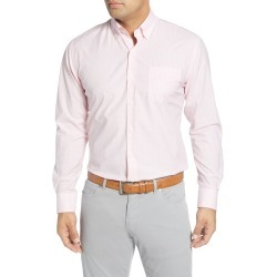Men's Peter Millar Brenton Regular Fit Gingham Check Button-Down Shirt, Size Small - Pink found on Bargain Bro Philippines from LinkShare USA for $44.40