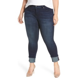 Plus Size Women's Jag Jeans Maddie Cuff Skinny Jeans found on MODAPINS from Nordstrom for USD $94.00