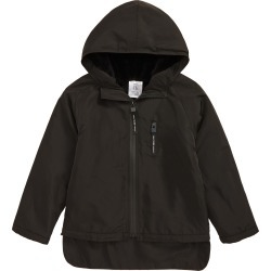 Boy's Tiny Tribe Spray Paint Full Zip Hooded Windbreaker