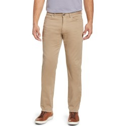 Men's Peter Millar Ultimate Sateen Five Pocket Pants, Size 33 - Beige found on Bargain Bro Philippines from LinkShare USA for $149.00