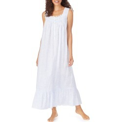 Women's Eileen West Lace Trim Cotton Nightgown found on MODAPINS from LinkShare USA for USD $74.00