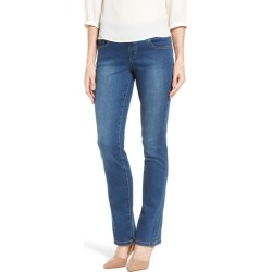 Women's Jag Jeans Peri Pull-On Straight Leg Jeans, Size 0 - Blue found on MODAPINS from Nordstrom for USD $74.00
