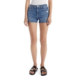 Women's Mother The Dutchie Cutoff Shorts, Size 27 - Blue found on MODAPINS from Nordstrom for USD $208.00