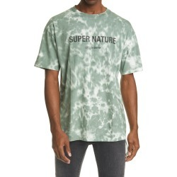 Men's Ksubi Super Nature Tie Dye Graphic Tee, Size Medium - Green found on MODAPINS from Nordstrom for USD $84.00
