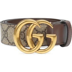 Women's Gucci Gg Supreme Canvas Belt found on Bargain Bro India from Nordstrom for $370.00