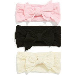 Baby Bling Bow Stretch Headband, Size One Size - Pink (3-Pack) (Baby Girls) (Online Only) found on Bargain Bro from Nordstrom for USD $22.80