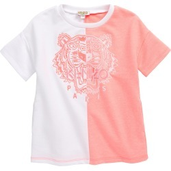 Toddler Girl's Kenzo Embroidered Tiger Logo Dress, Size 2Y - Pink found on MODAPINS from LinkShare USA for USD $173.00