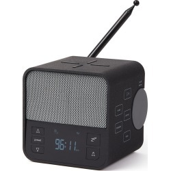 Lexon Oslo News Lite Fm Alarm Clock Radio, Bluetooth Speaker & Wireless Charger, Size One Size - Black found on Bargain Bro from Nordstrom for USD $45.55