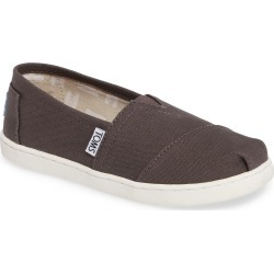 Toddler Toms 2.0 Classic Alpargata Slip-On, Size 12.5 M - Grey