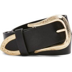 Women's Topshop Dallas Western Belt, Size X-Small/Small - Black found on Bargain Bro Philippines from Nordstrom for $38.00