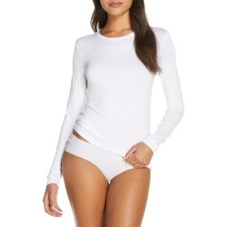 Women's Nordstrom Luxe Comfort Layer Long Sleeve T-Shirt, Size X-Large - White found on Bargain Bro Philippines from LinkShare USA for $29.00