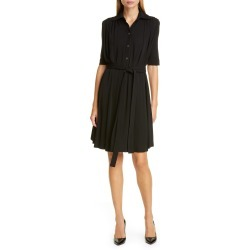 Women's Burberry Cammie Jersey Shirtdress