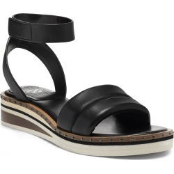 Women's Vince Camuto Mellienda Wedge Sandal, Size 8.5 M - Black found on Bargain Bro from Nordstrom for USD $83.56