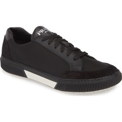 Men's Prada Stratus Low Top Sneaker, Size 8US - Black found on MODAPINS from Nordstrom for USD $620.00
