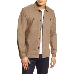 Men's Oliver Spencer Slim Fit Button-Up Shirt, Size XX-Large - Brown found on MODAPINS from Nordstrom for USD $110.29