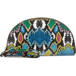 Bp. Snake Print Faux Leather Wristlet - Blue found on Bargain Bro India from LinkShare USA for $29.00