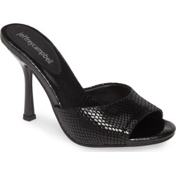 Women's Jeffrey Campbell Pg13 Slide Sandal, Size 10 M - Black found on Bargain Bro Philippines from Nordstrom for $129.95